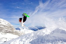 Freeride w Alpach słoweńskich
