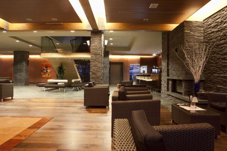 Bohinj ECO Hotel Słowenia - hol