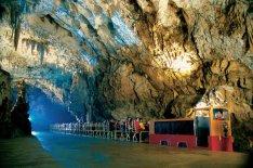 Wnętrze Jaskini Postojnej