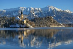 Kościół na jeziorze Bled