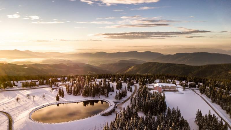 Ośrodek narciarski Rogla w Słowenii