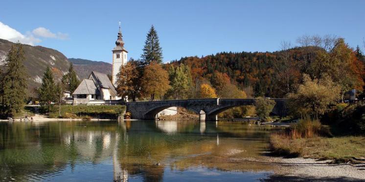Jezioro Bohinj - Słowenia