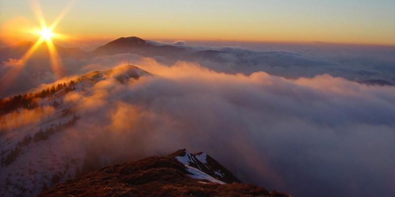 Słoweńskie góry - Bohinj