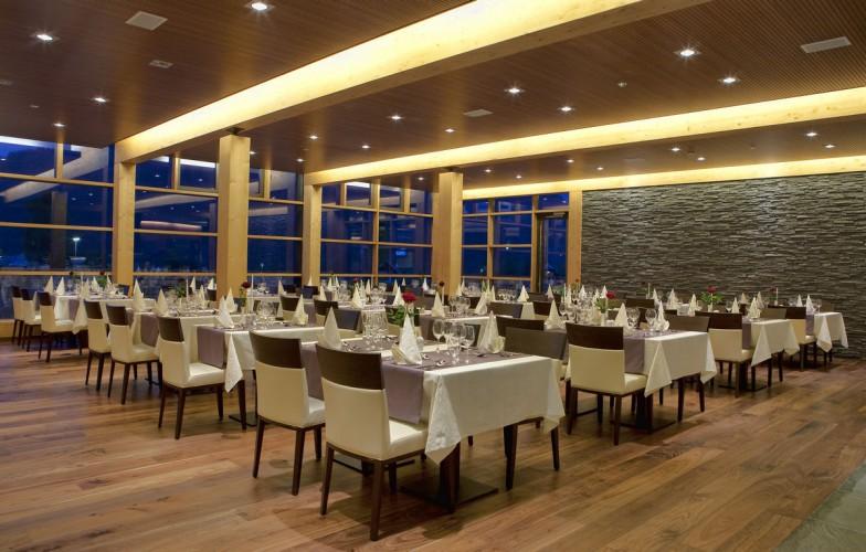 Bohinj ECO Hotel Słowenia - restauracja
