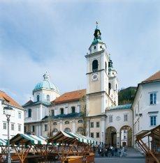 Katedra w  Lublanie