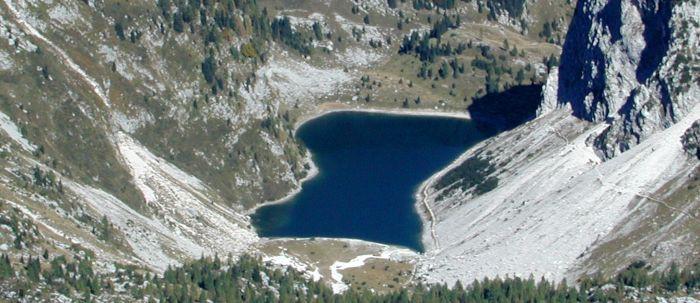 Triglav - górskie jezioro