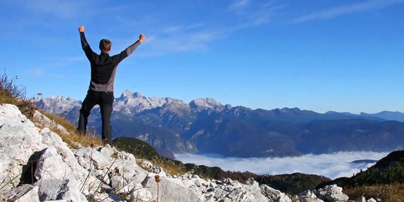 W słoweńskich górach