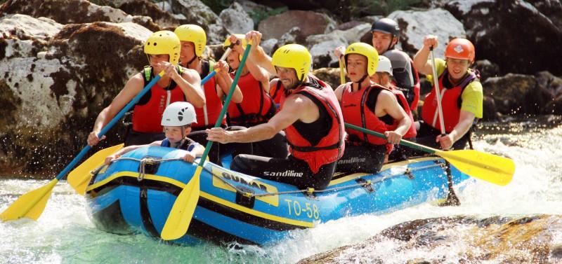 Rafting w Słowenii