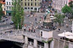 Plac Prešerena w Lublanie