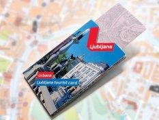 Karta turystyczna w Lublanie
