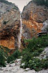Dolina Logarska Wodospad Rinka