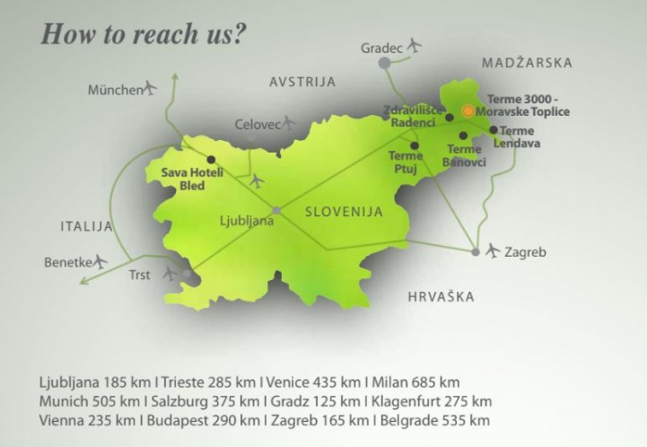 Terme3000 - lokalizacja
