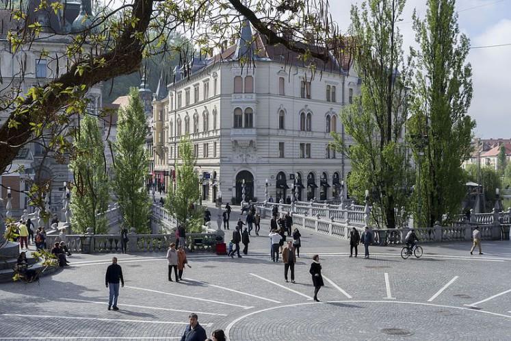Trzy Mosty w Lublanie